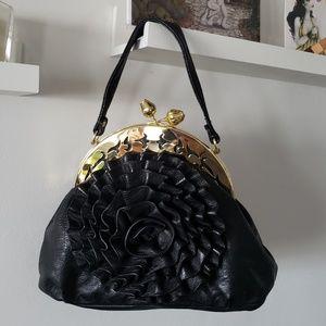 Goth Floral Bag